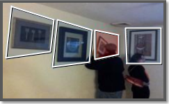 Video analytics object taken detection, on the edge. Monitoring a TV, painting, or other valuable.