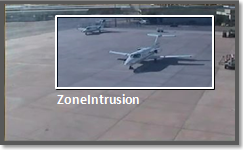 Video analytics zone intrusion, on the edge.