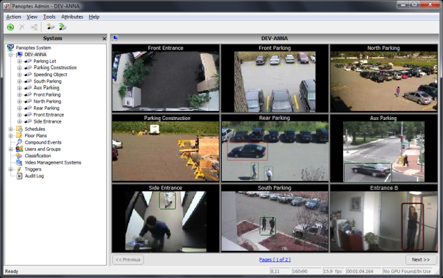 Process up to 10 times as many cameras on one server as comparable video analytics solutions.