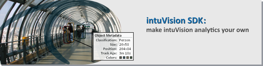 Make our intelligent video analytics your own with intuVision SDK.