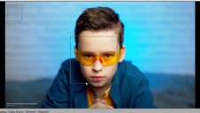 face detection with safety glases thumbnail
