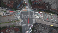 Drone Video from Large Intersection thumbnail