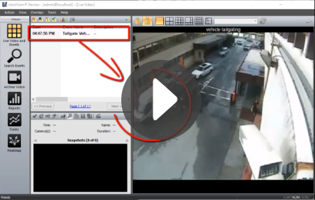 intuVision Vehicle Tailgating Detection thumbnail