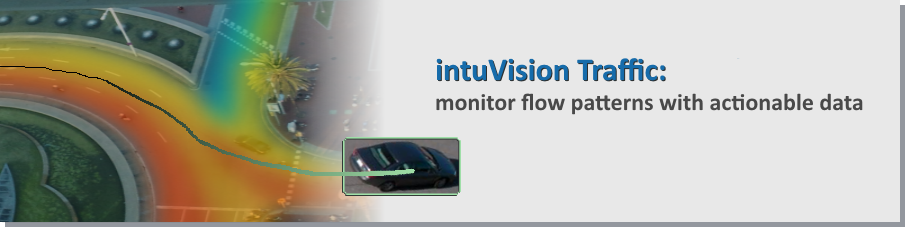 Video analytics manage traffic flow at a glance with intuitive heatmaps.